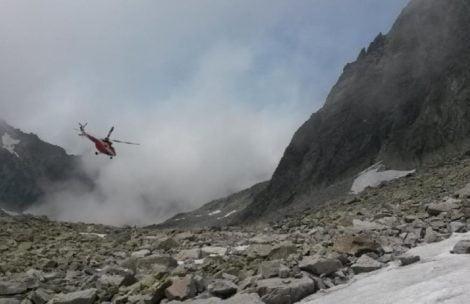 Wypadek polskiego taternika w Tatrach Słowackich