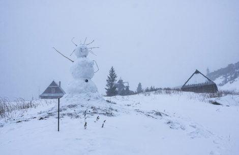 Tatry: Nadchodzi załamanie pogody, mróz i opady śniegu