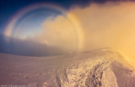 Co za gra chmur i światła! Niesamowite warunki w Tatrach (ZDJĘCIA)