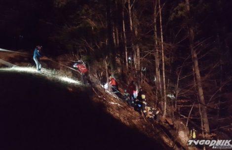 Mężczyzna zginął podczas schodzenia z Gubałówki