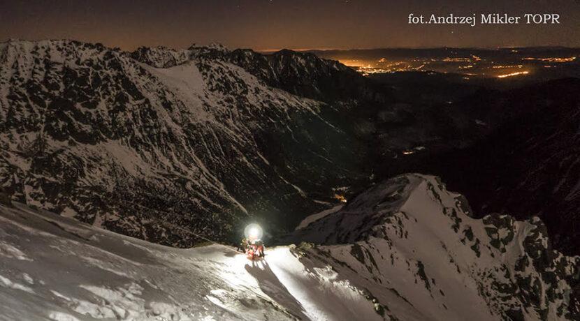 Tragedia w Tatrach: turysta spadł w przepaść podczas biwaku