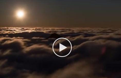 Świąteczny zachód Księżyca nad Giewontem – MAGIA! (FILM)