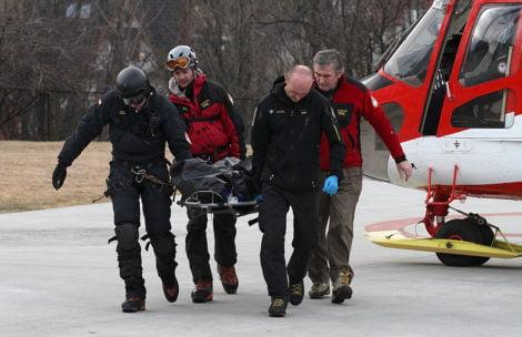 Nie żyje 19-latka, która spadła dziś spod Krzyżnego. 13 ofiara w ostatnich dniach