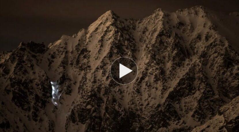 """""""Wąż świetlny"""" w Tatrach (FILM)"""