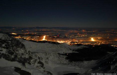 Turyści utknęli nocą w rejonie Orlej Perci