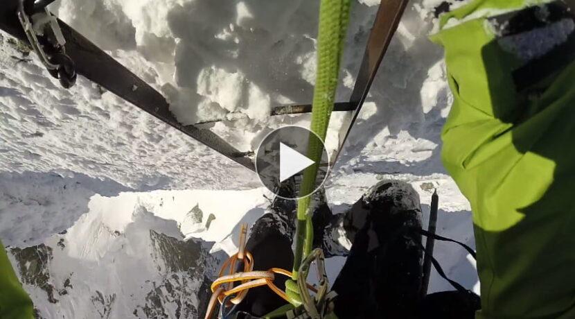 Orla Perć zimą – świetny film z przejścia