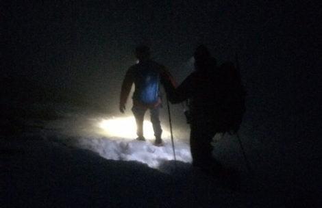 Turysta zgubił szlak na Czerwonych Wierchach. Kolejna nocna akcja TOPR