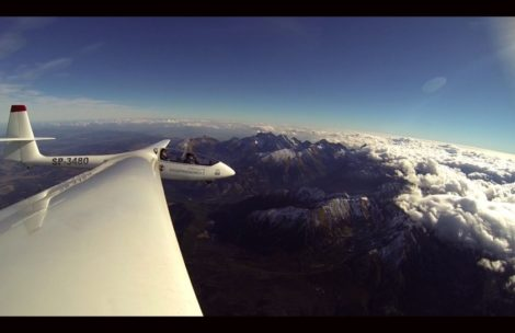 Awaryjne lądowanie szybowca w Tatrach