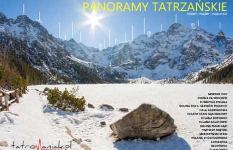 Nowy e-book! Opisane panoramy tatrzańskie