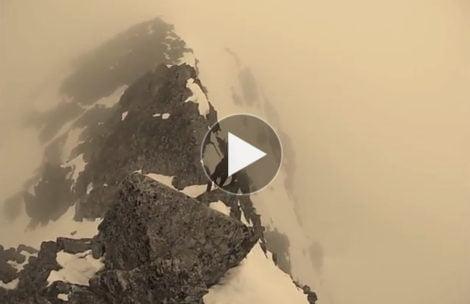 Świnica w warunkach zimowych (FILM)