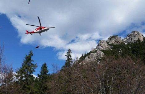 Tragedia w Tatrach. Turysta zginął w kamiennej lawinie
