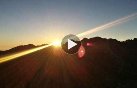 Wschód słońca na Kościelcu (TIMELAPSE)