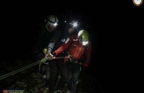 O krok od tragedii w Tatrach. Turyści zgubili szlak na Czerwonych Wierchach