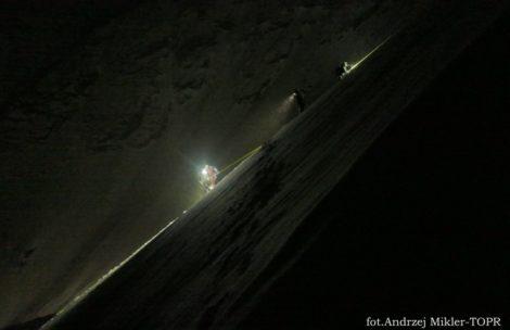 O krok od tragedii w Tatrach! Dwie nocne akcje ratowników TOPR