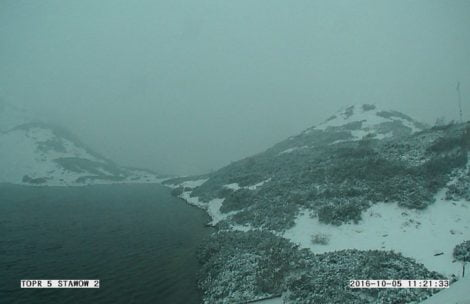 Śniegu coraz więcej. Pierwszy stopień zagrożenia lawinowego w Tatrach