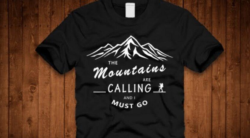 """KOSZULKI """"MOUNTAINS CALLING"""""""
