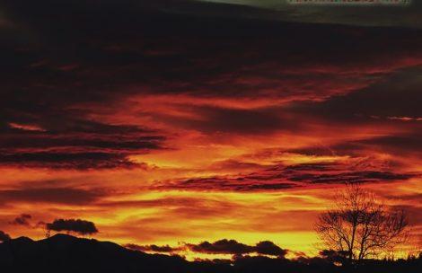 Niebo nad Tatrami zapłonęło! Zdjęcia z wczorajszego zachodu słońca