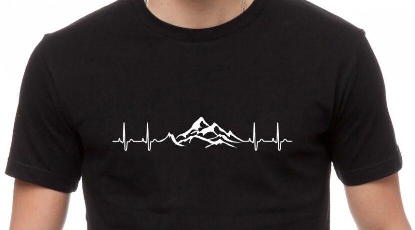 """Nowe koszulki z motywem """"górskiego EKG"""" – zbieramy zamówienia"""