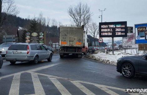 Z Zakopanego do Krakowa w 6 godzin! Rekordowy korek na zakopiance