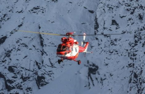 Lawina w Tatrach. Trwa akcja ratowników TOPR