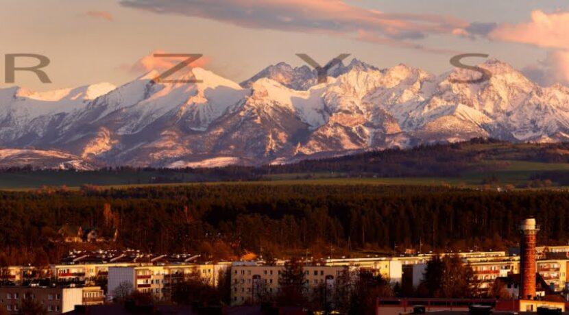 Megapanorama Tatr z Nowego Targu (WYSOKA ROZDZIELCZOŚĆ)