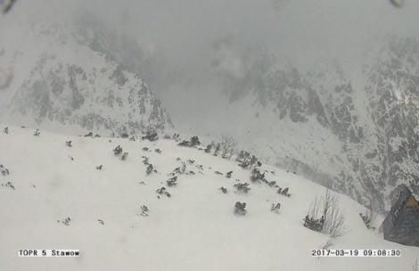 Zima w Tatrach nie odpuszcza! Na szczytach -16°C i świeży śnieg