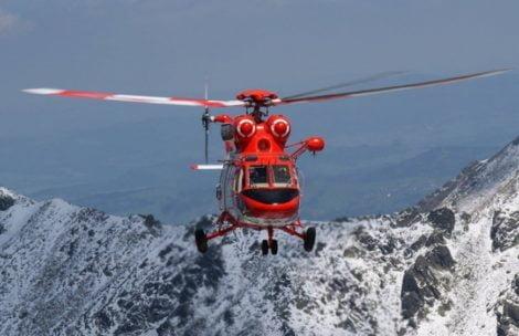 Dwie akcje ratunkowe w Tatrach. Wystartował śmigłowiec TOPR