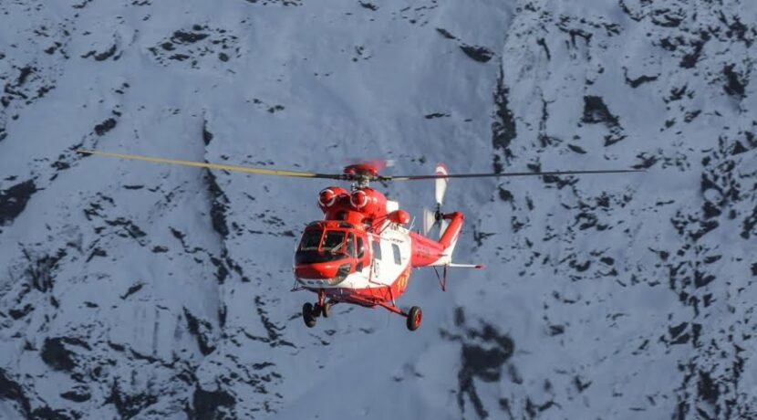Wypadek turystyczny pod Rysami. Akcja ratunkowa TOPR