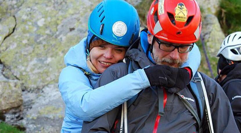 Z wózka na szczyt Mnicha! Angelika spełnia kolejne górskie marzenie