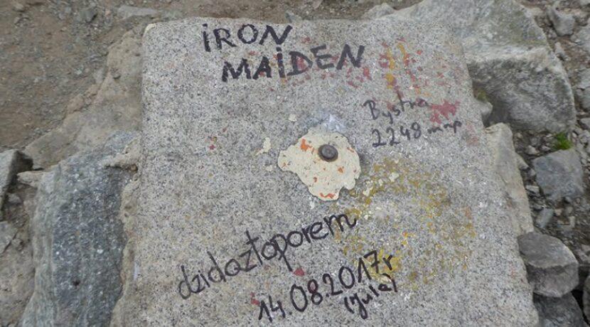 Kolejny przykład wandalizmu w Tatrach