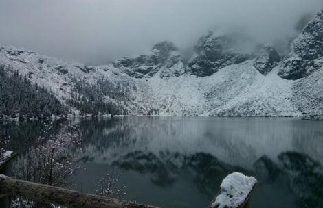 Załamanie pogody w Tatrach. Spadnie kilkanaście centymetrów śniegu