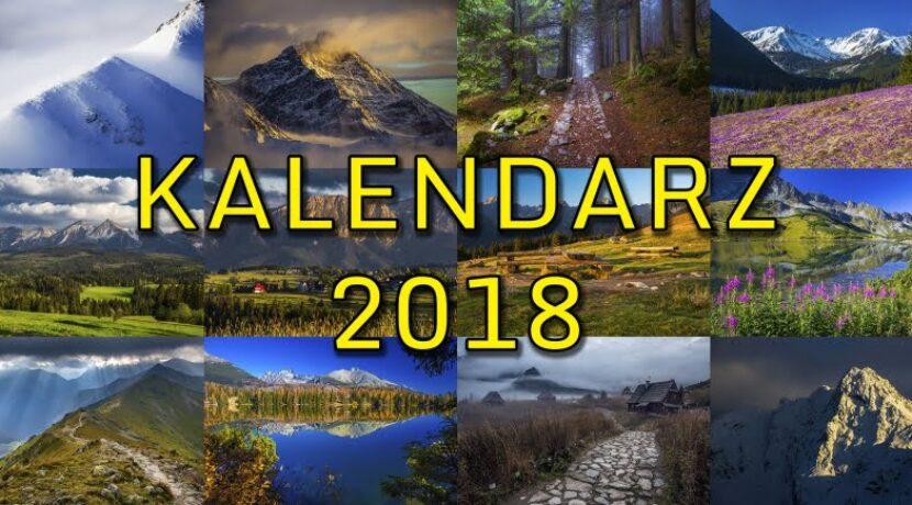 Kalendarz Tatromaniaka 2018 – projekt i zamówienia