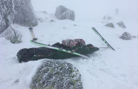 Tragedia w Niżnych Tatrach. Nie żyje dwoje skialpinistów