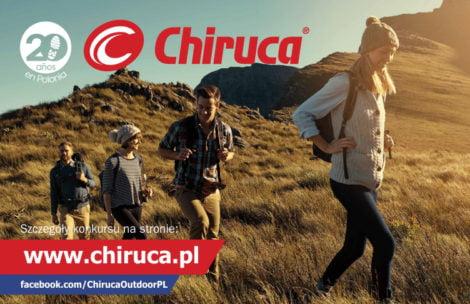 20 tygodni konkursu na 20 lat Chiruca w Polsce! Wygraj buty GTX Surround!