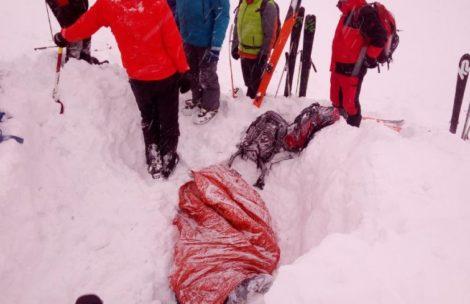Lawina w Tatrach Słowackich. Nie żyje polski skialpinista