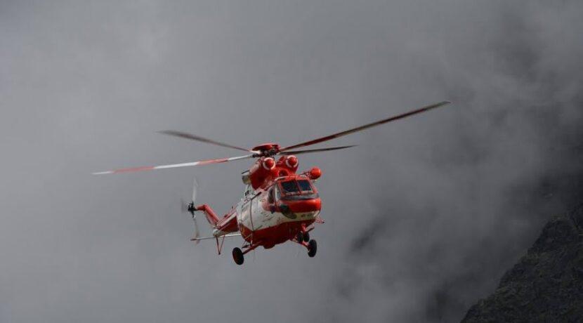 Rysy: wyprawa ratunkowa po 5 turystów z Niemiec, jeden spadł