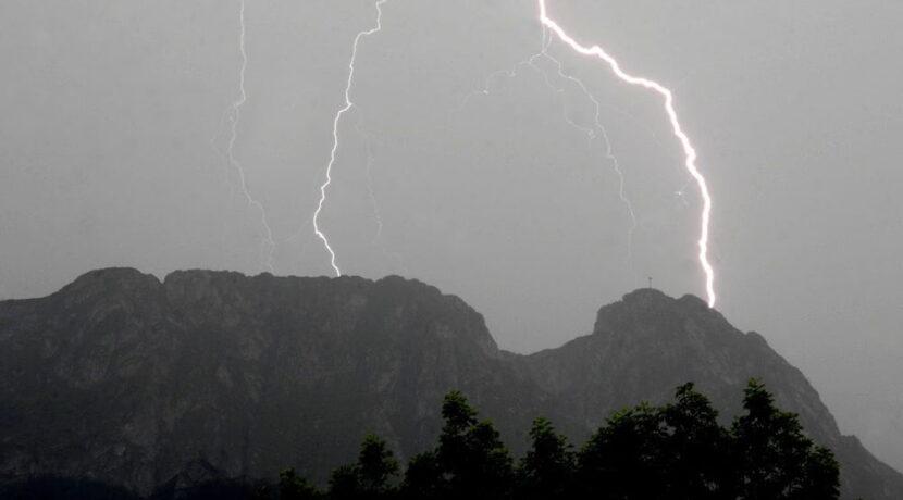 Zasady zachowania w czasie burzy w górach