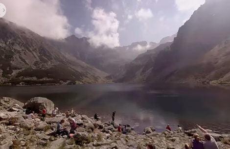 Sferyczne nagranie z Tatr – to trzeba zobaczyć! (FILM)