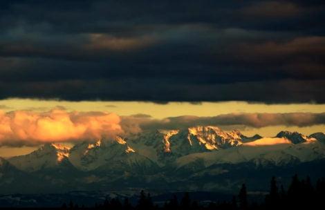 Piękny zimowy timelapse z Tatr (FILM)