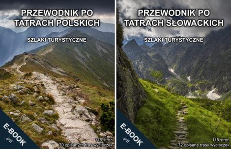 Przewodniki po Tatrach w promocyjnej cenie + KONKURS