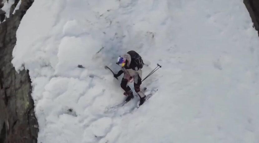 Jest pierwszyy klip ze zjazdu Andrzeja Bargiela z K2 (FILM)