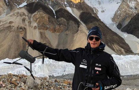 Historyczna misja medyczna na K2. Dron dostarczył leki do obozu III