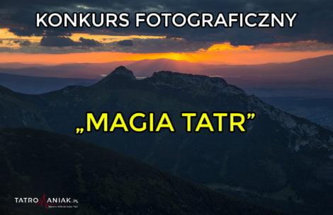 "Rusza konkurs fotograficzny ""Magia Tatr"""