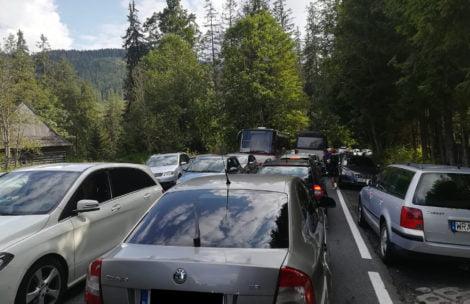 W Tatrach istny armagedon. Zamknięta droga w kierunku Morskiego Oka