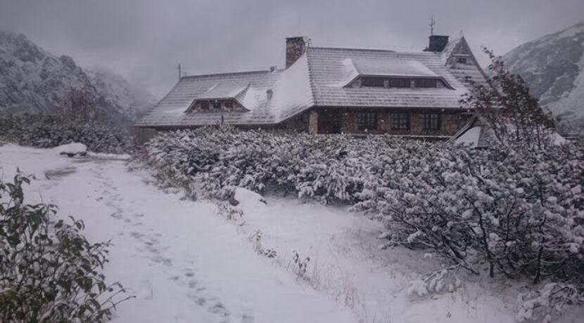 W Tatrach zima! Dzisiejsze zdjęcia z Doliny Pięciu Stawów Polskich