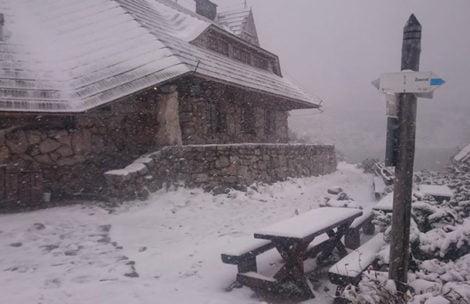 Idzie zima! Opady śniegu i mróz w Tatrach