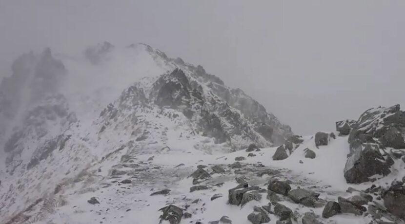 Dzisiejsze warunki na Szpiglasowej Przełęczy (FILM)