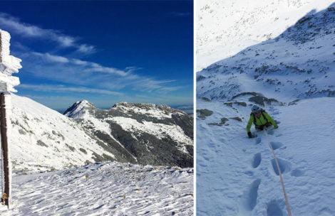 Piękny dzień w Tatrach. Śniegu miejscami po pas! (ZDJĘCIA)