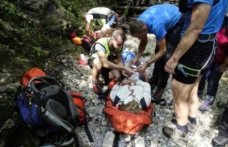 Poważny wypadek Polaka w Słowackim Raju