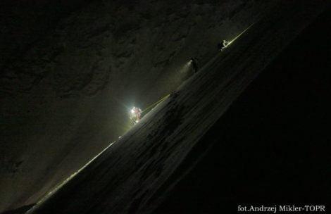 Dwie nocne akcje ratowników TOPR